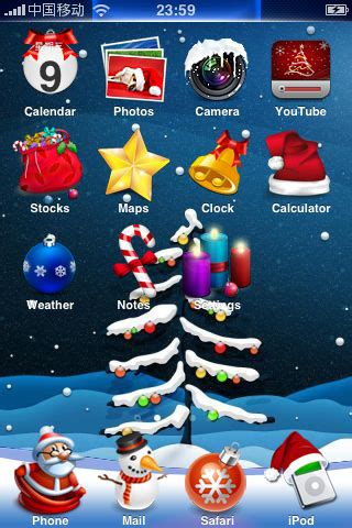 christmas themes for your phone f 246 rbered dig f 246 r julen med iced christmas iphoneguiden se