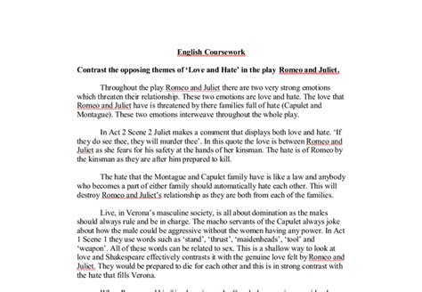 thesis statement for romeo and juliet thesis statements for romeo and juliet essay