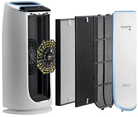 Rowenta PU6010 Intense Pure Air 800 Square Feet Air Purifier with 4 Filters Including HEPA