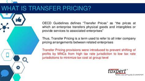 domestic transfer presentation on domestic transfer pricing