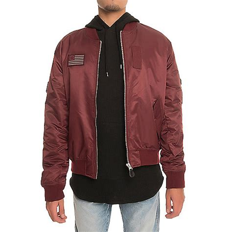 H Jaket List Maroon s bomber jackets shiekh shoes