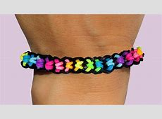 Rainbow Loom Nederlands Boxed Bow Bracelet Loom Bands ... Rainbow Loom Bow Tie Bracelet