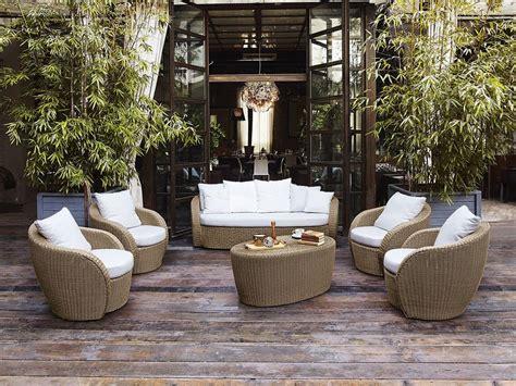 poltrone da terrazzo poltrona in vimini per terrazzo giardino o bar spiaggia