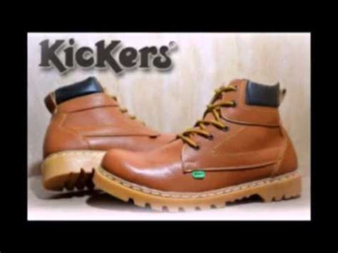 Sepatu Boot Pria Kickers Boots Trekking Safety sepatu kickers boots safety