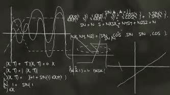 net pattern for physics science physics chemistry calculations on the blackboard