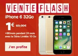 bons plans sfr iphone 6 32go 224 1 avec la s 233 rie limit 233 e 10go iphone se 128go nu 224 400 euros