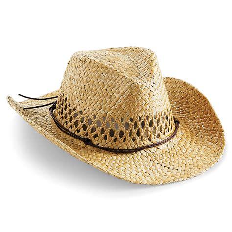 Handmade Cowboy Hats - beechfield straw summer cowboy hat handmade wired brim