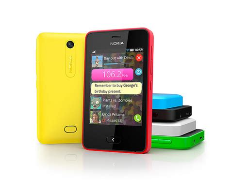 Hp Nokia Asha Tipe 501 nokia asha 501 is now official features new type of interface touch display