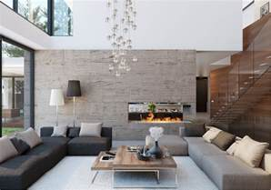 modern house interior design ideas with elegant indoor dramatic modern house by site interior design decoholic