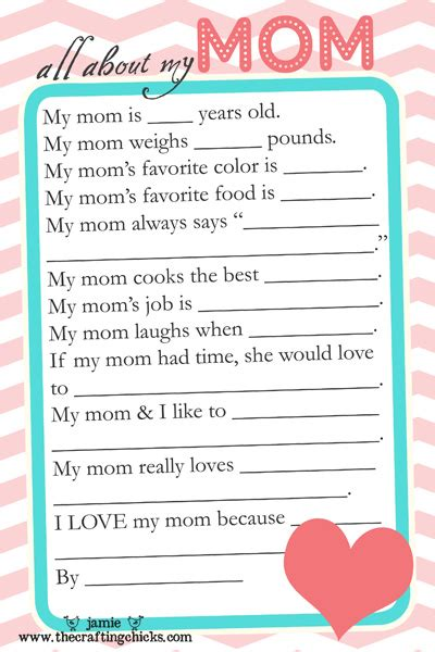 printable happiness questionnaire mother s day gifts for dads and kids to make handmade
