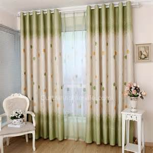 Bedroom Curtains On Sale Curtains On Sale And Energy Saving Floral Print Casual