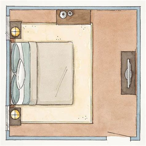 bhg layout your space how to lay out your bedroom furniture choice