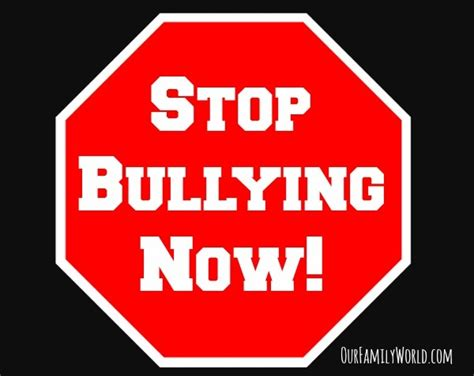 how to stop a from how to stop bullying facts