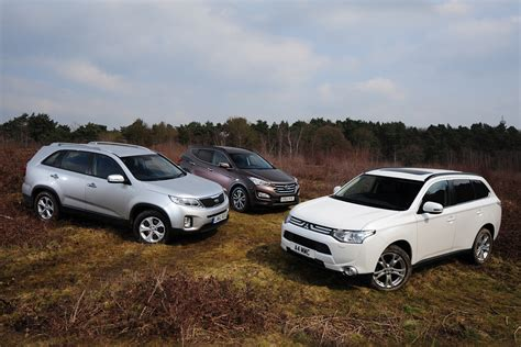 mitsubishi outlander off road mitsubishi outlander vs rivals auto express
