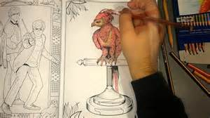 Galerry coloring book for adults harry potter
