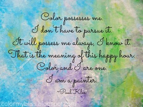 quotes on colours and happiness color my bliss 02 16 13