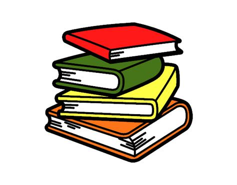 libro del dibujo infantil a dibujo de pila de libros pintado por en dibujos net el d 237 a