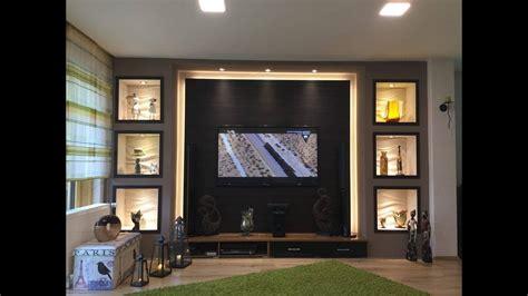 wand wohnzimmer tv wand selber bauen wohnzimmer living room tv wall
