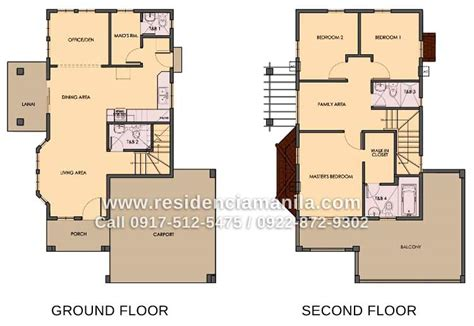 house floor plan philippines in the philippines two storey house design floor plan with