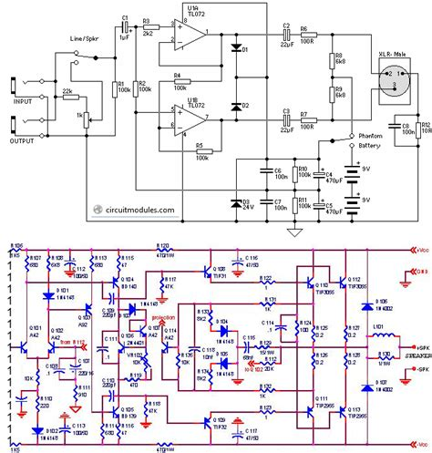Power Lifier Class D transistor lifier circuit diagram transistor free