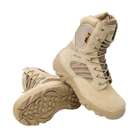 Sepatu Delta Cordura Jual Delta Cordura Combat Sepatu High Boots Desert Army Harga Kualitas Terjamin
