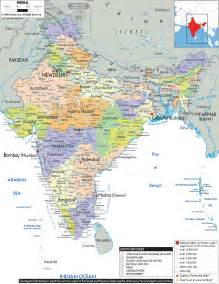 Political Map Of India by Pics Photos India Map Political