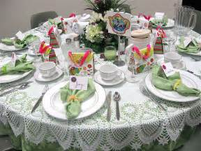 table settings ideas table scraps tea scones and cowboy hats