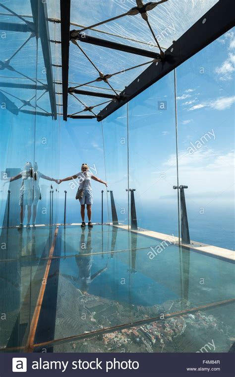mirador glass the mirador de abrante with its glass floor projecting out