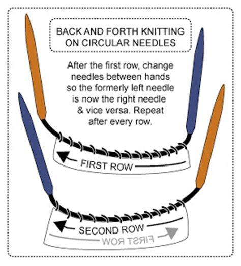 why use circular knitting needles techknitting flat knitting back and forth on circular