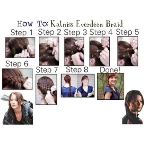 How To Do A Katniss Braid Step By Step | 16 best images about costume ideas on pinterest hunger