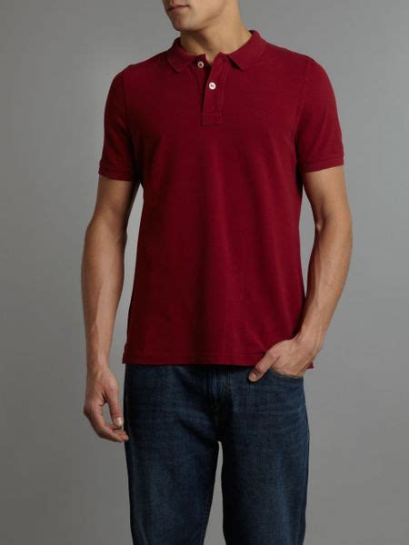 Jual Polo Shirt Original Burberry Raspberry Asli 2 farrell vintage polo shirt in pink for raspberry lyst