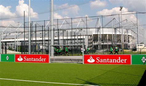 santander bank standorte neue soccer arena f 252 r junge fohlen 5 a side fu 223 auf