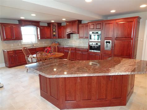 kitchen cabinet cherry custom cherry kitchen cabinets
