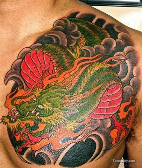 green dragon tattoo designs 80 modish tattoos on chest