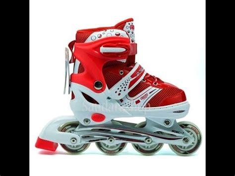 Sepatu Roda Merk X Line review in line skate power super8 abec 1 sepatu roda anak