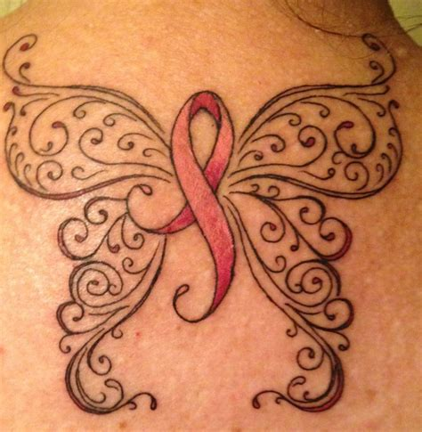survivor tattoo symbol my survivor after breast cancer treatment