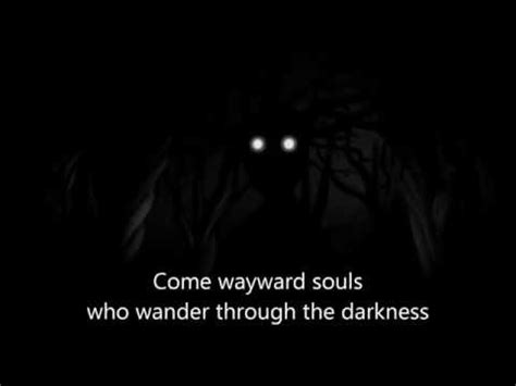 Over The Garden Wall Song Come Wayward Souls With Lyrics The Garden Wall Lyrics