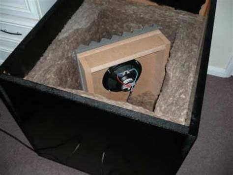 diy guitar speaker isolation cabinet brad s guitar amplifier isolation mark 2 box design build