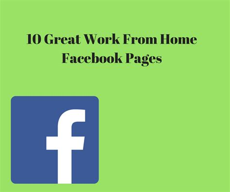 fb jobs ten excellent do the job from house fb webpages learning