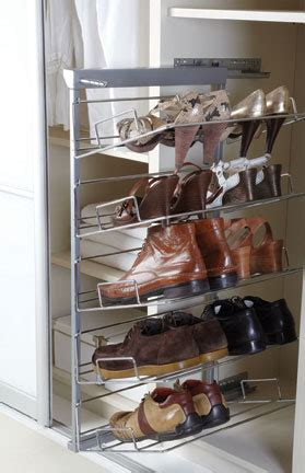 pull out shoe storage pull out tiered shoe rack custom made bedrooms
