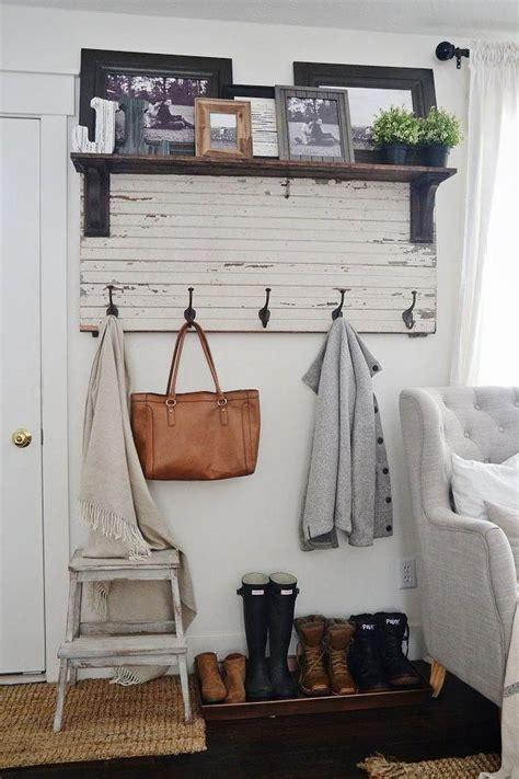 diy rustic entryway coat rack  super simple