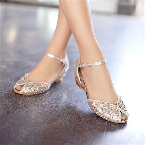 silver rhinestone sandals wedding 2013 rhinestone sandals genuine leather open toe wedges