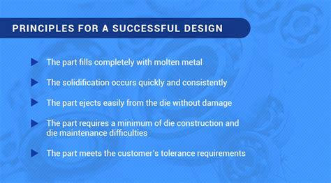 workshop layout principles die casting design tips dfm tips for die cast parts