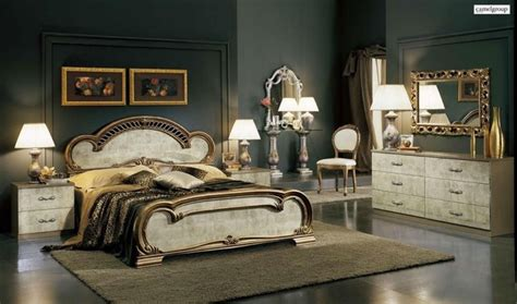 made in italy wood luxury elite furniture set