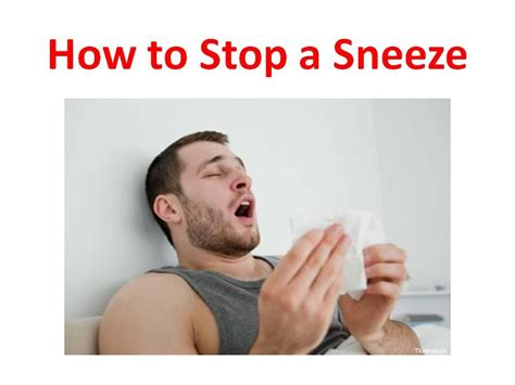 keeps sneezing how to stop sneezing and runny nose