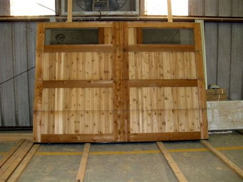 How To Make Garage Doors by Wood Garage Door
