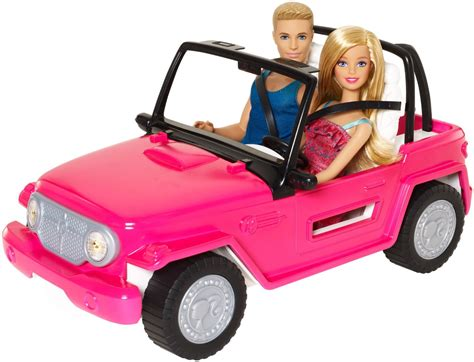 barbie jeep barbie beach cruiser and ken doll barbie collectibles