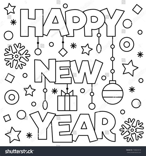 new years coloring happy new year coloring pages to print happy new year