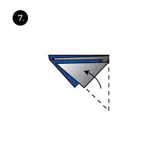 four stairs pocket square fold tie a tie net