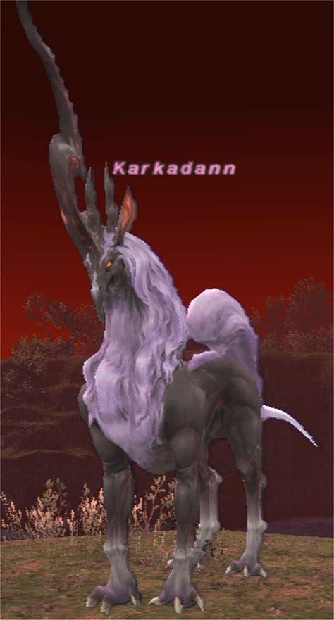 karkadann ffxiclopedia final fantasy xi wiki
